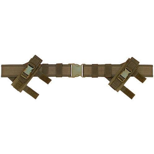 FOX Outdoor Duty Tactical Belt - 2.0 Dual Mag Pouches