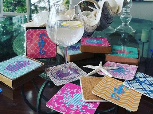 Coaster sets of Six