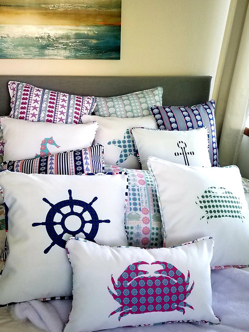 Randi K. Boho Beach Pillow Covers