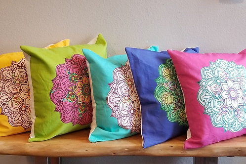 Randi K. Mandala Pillow Covers