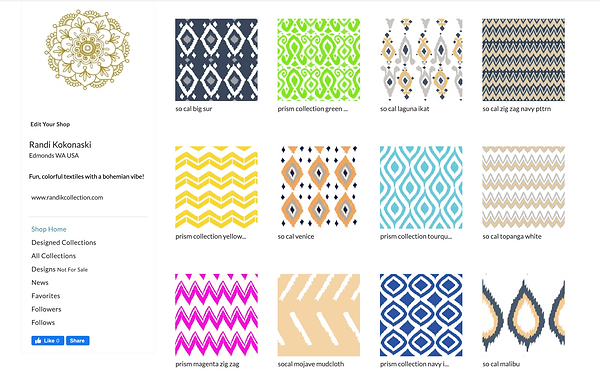 Spoonflower Fabric Collection.png
