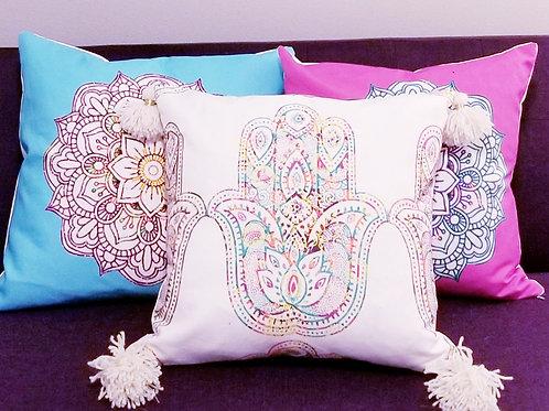 Randi K. Mandala Pillow Covers