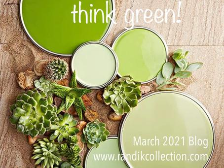 think green!🌿