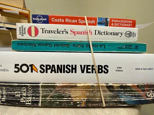 Spanish: Novels-Phrase book-Verbs