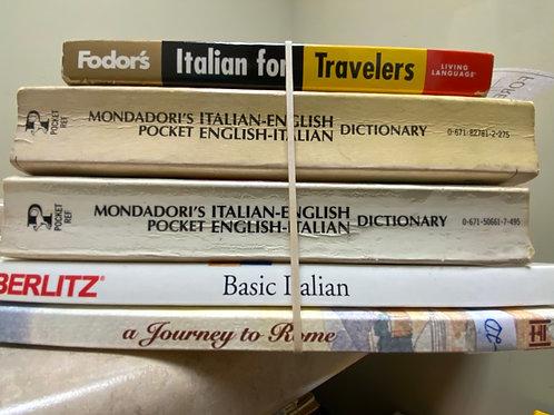 Italian dictionary-traveller's guide
