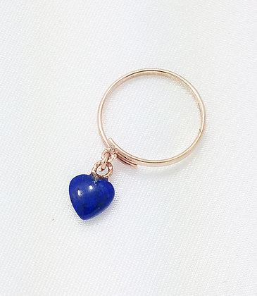 SOLD - blue heart