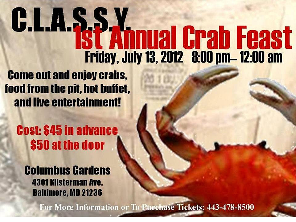 JBEEFLY.COM | Crab Feast Flyer