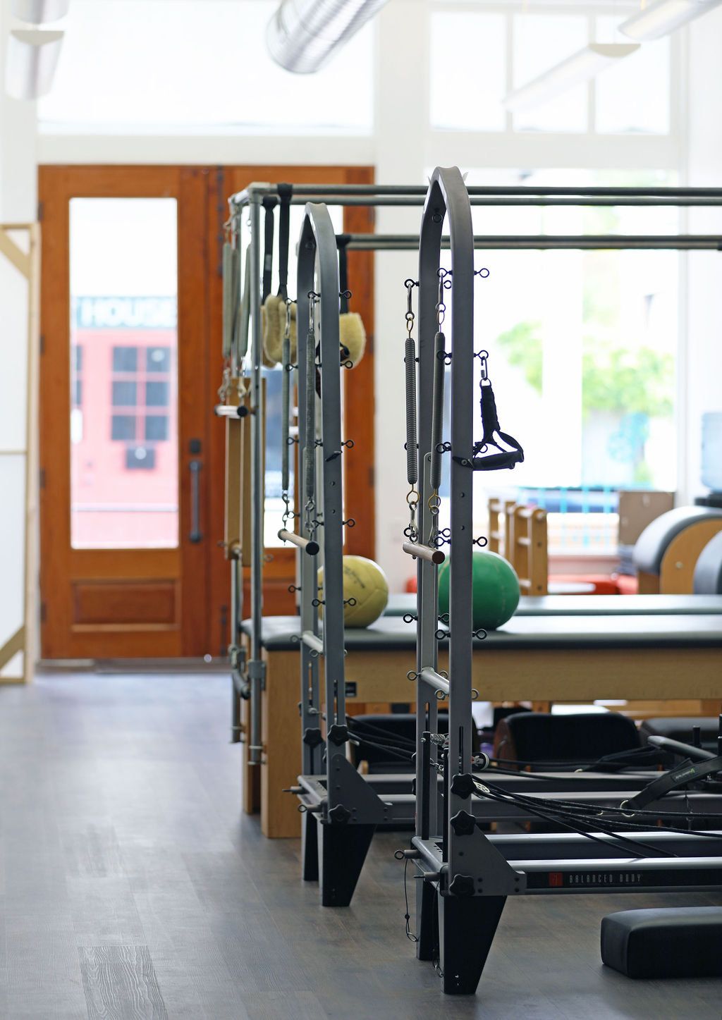 Small Group Pilates Reformer