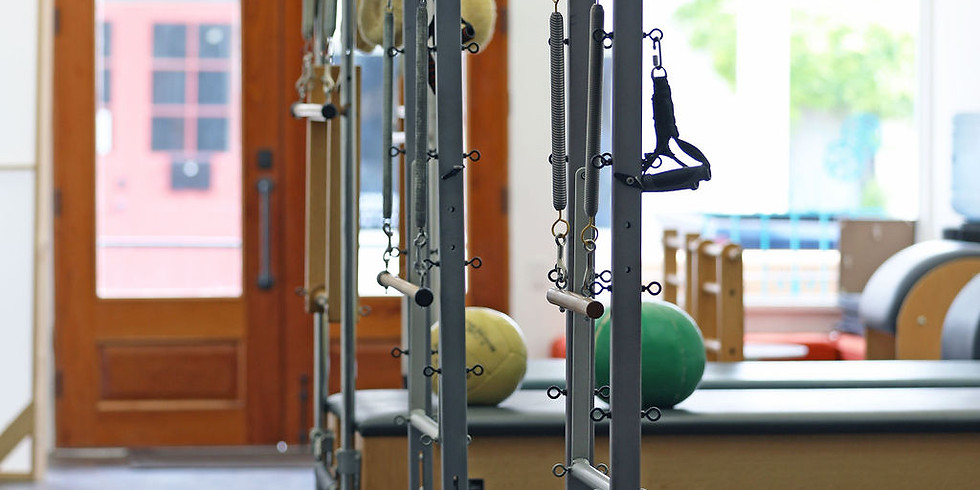 Intro to Pilates: Cadillac and Barrel Apparatus