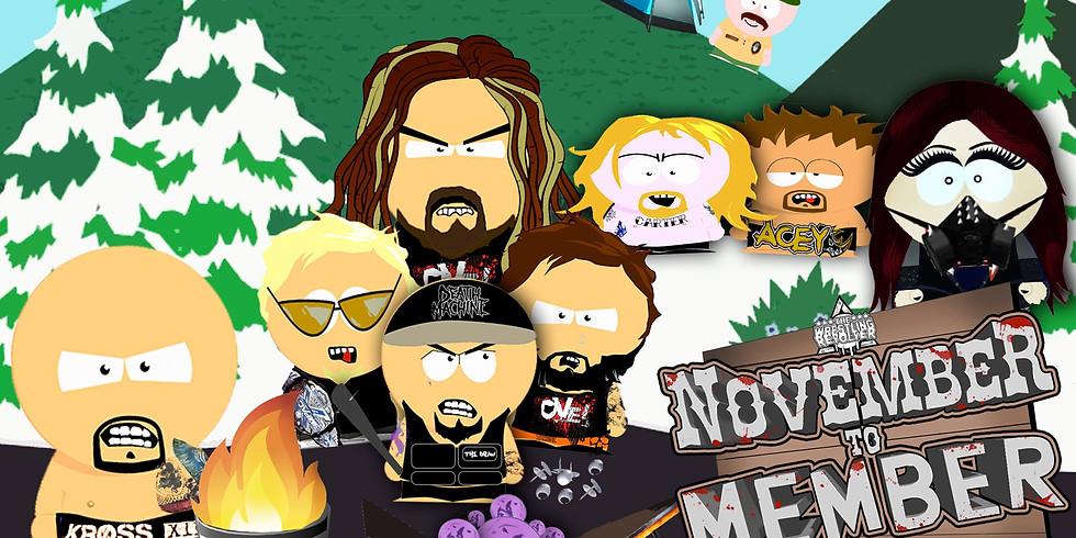 Wrestling Revolver  November to Member
