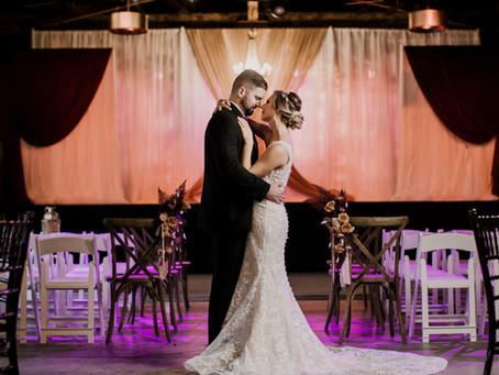 Industrial Romance Styled Shoot / The Brightside Music & Event Venue Dayton, Ohio