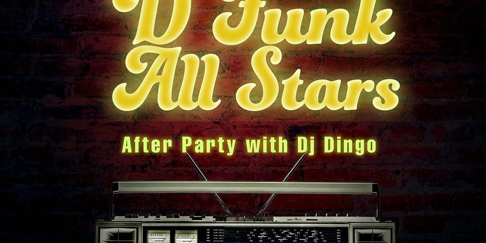 Old School Funk Night w D Funk All Stars
