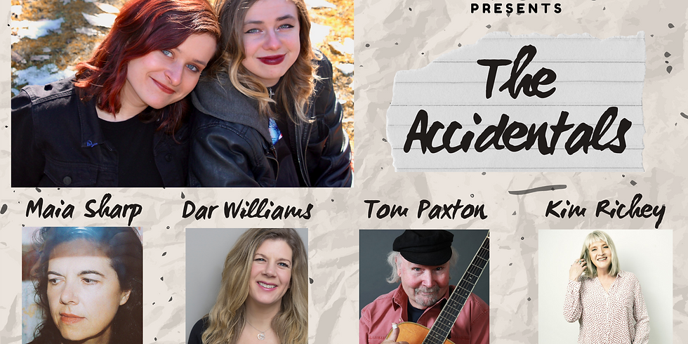 The Accidentals Virtual EP Release Concert!