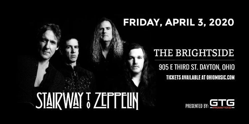 Rescheduled - Date TBD Stairway to Zeppelin w/ Five Story Plunge