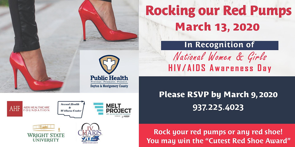 RESCHEDULED - Rocking our Red Pumps