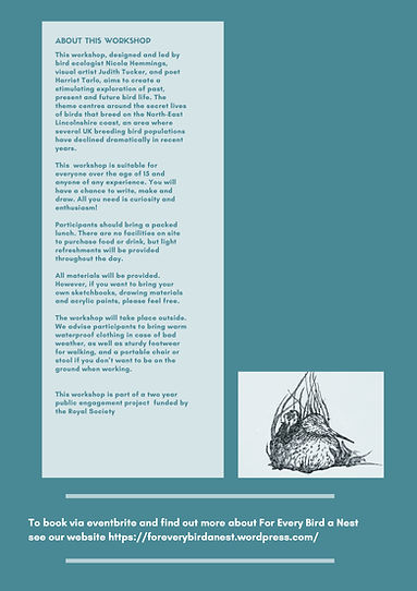 page 2 Final For every bird a nest – one
