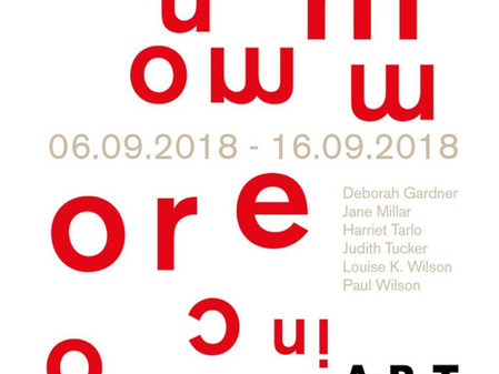 More in Common APT, Gallery London, September 2018