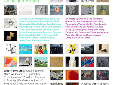 Between Us: Biennial Conversations and Exchanges  An ongoing dialogue between artists from China and