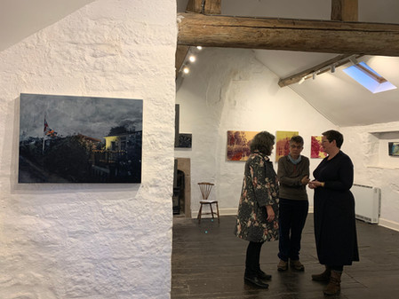 Salon 11 at The Old Lock Up Gallery October 2019
