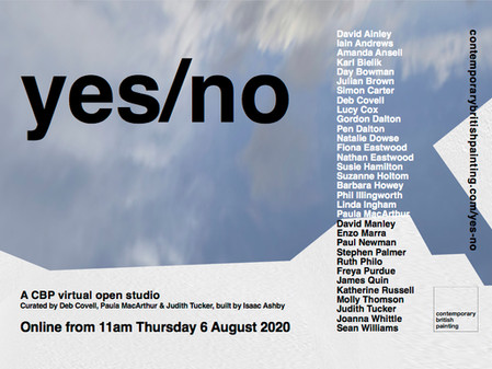 yes/no: A CBP virtual open studio:                                         co-curated with Deb Covel