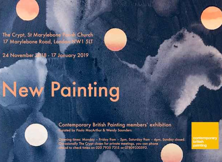 NEW PAINTING: CBP Group Exhibition 2018                        24th November 2018 - 17th January 201