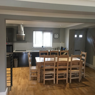 Transistional Unit Dining Area