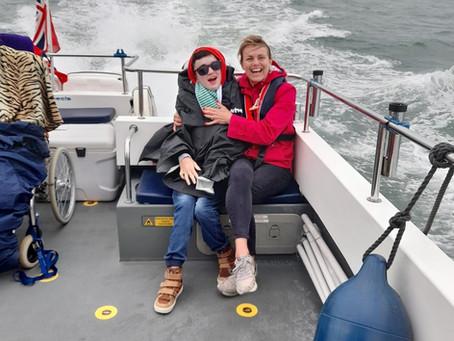 """Skipper"" Max takes the Helm"