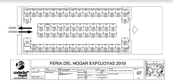 PLANO EXPOJOYAS  2019 CORFERIAS PABELLON