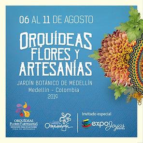 PUBLICIDAD DE ORQUIDEAS FLORES Y ARTESAN