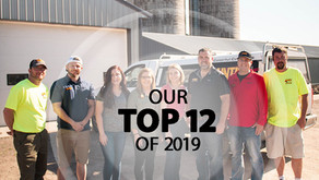 Our Top 12 of 2019