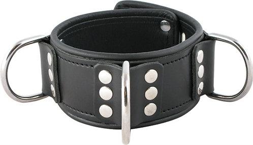 Mister B Leather Lockable Collar Broad
