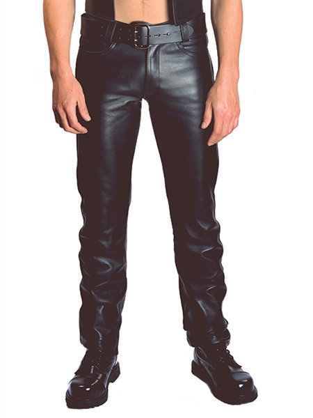 Mister B Leather Jeans