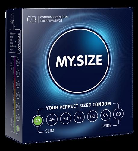 PRESERVATIVI MYSIZE - 3PZ
