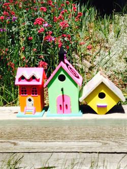 Collage Birdhouses