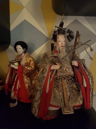 Les poupées de l'Hina Matsuri.