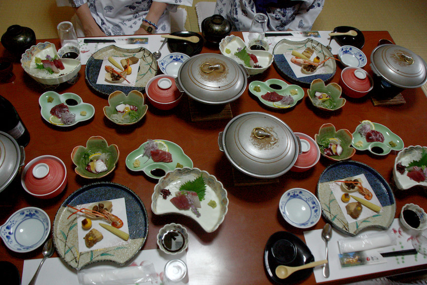 Diner au Ryokan