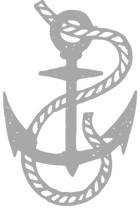 Greyscale on transparent cropped anchor.
