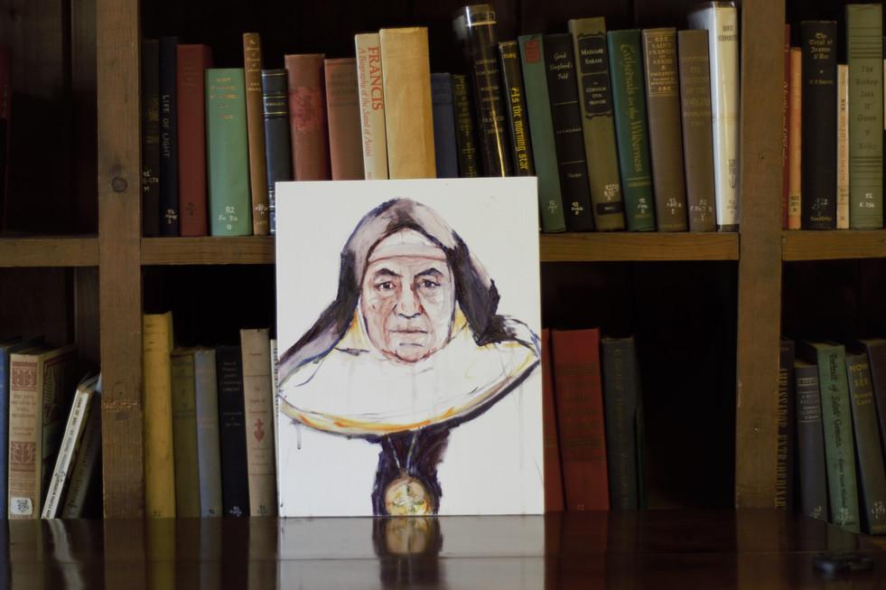 Mother Abbess David Serena, Bethlehem, CT, 2018