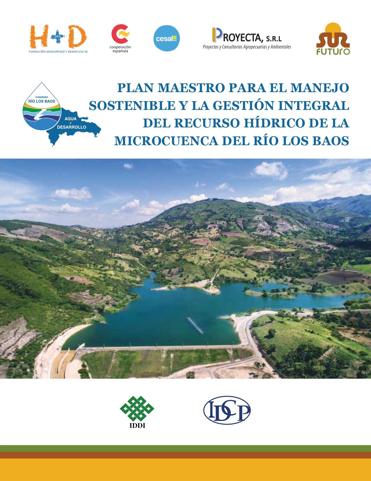 Informe Plan Maestro Microcuenca Los Bao