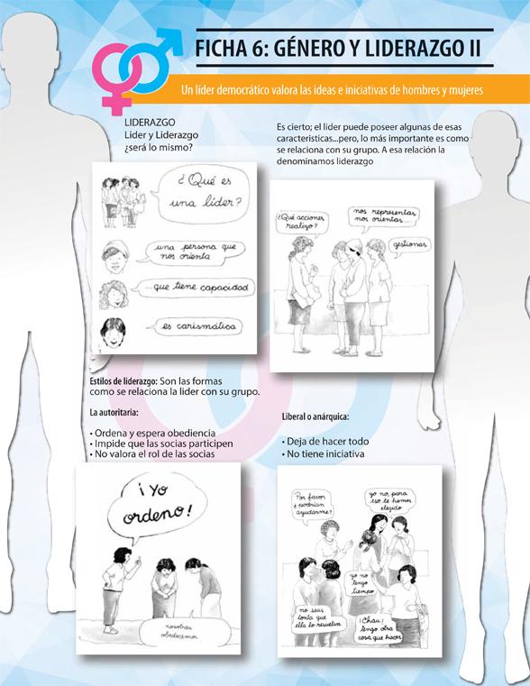 Ficha género: liderazgo 2