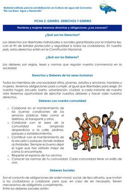 Ficha derechos y deberes