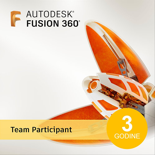 Fusion 360 Team Participant - New 3-Year Subscription