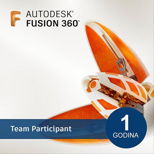 Fusion 360 Team Participant - New Annual Subscription