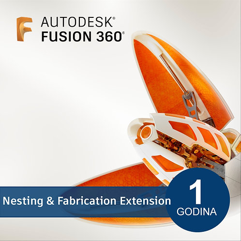 Fusion 360 - Nesting & Fabrication Extension - Annual Subscription