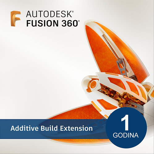Fusion 360 - Additive Build Extension - Annual Subscription