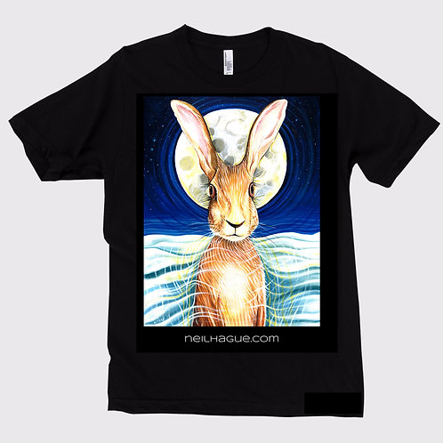 Moon Hare Unisex T-shirt