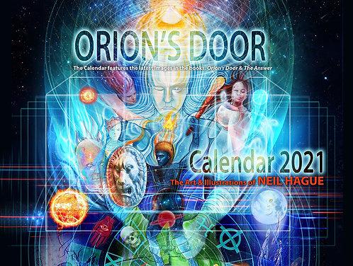Orion's Door Calendar