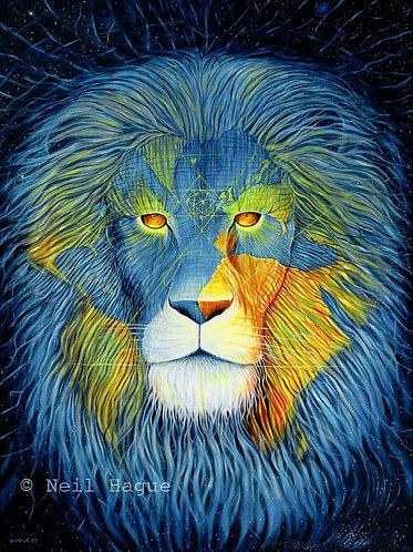 Christ Lion Consciousness ( Giclée Print on Paper)