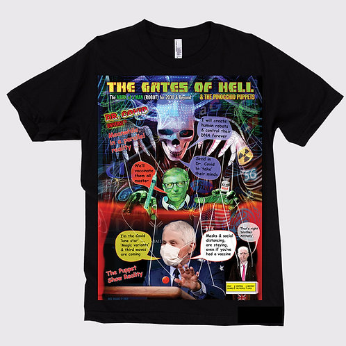 Gates of Hell Unisex T-shirt 2
