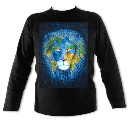 Earth Lion Long Sleeved T-shirt